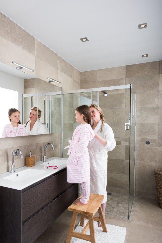 Aluminium plafond voor uw badkamer | De Graaf BV