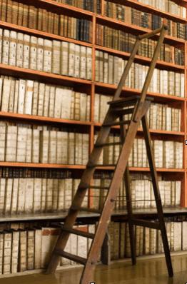 Boekenkast met trap - De Graaf BV