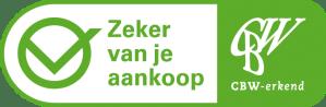 Erkend logo