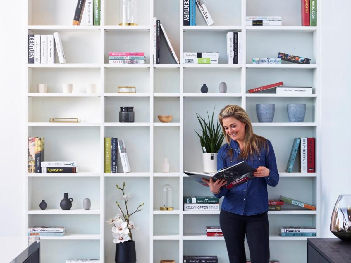 In De Spotlight: Boekenkasten Op Maat Gemaakt