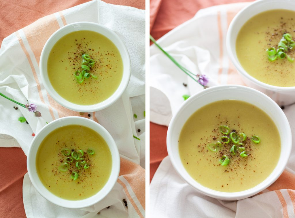 recept aspergesoep maken