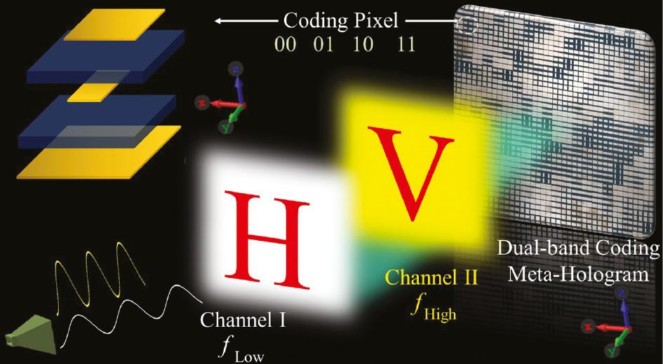 microwave meta holograms