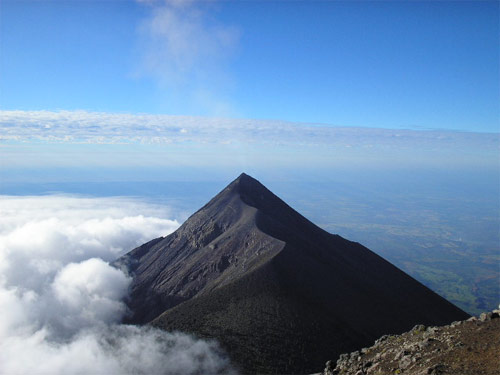 Volcán de Acatenango, Guatemala