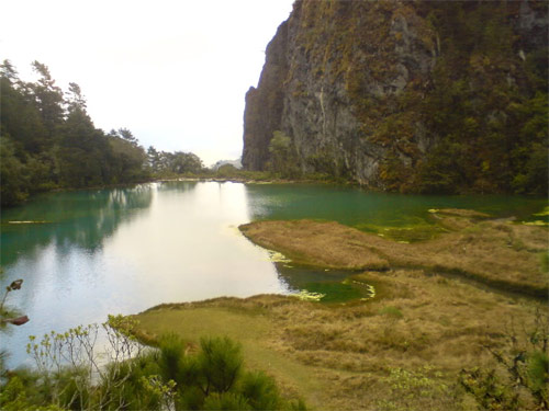 Laguna Magdalena, Comunidad Magdalena, Chiantla, Huehuetenango, Guatemala. Imágen 4