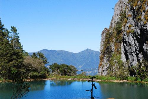 Laguna Magdalena, Comunidad Magdalena, Chiantla, Huehuetenango, Guatemala. Imágen 2