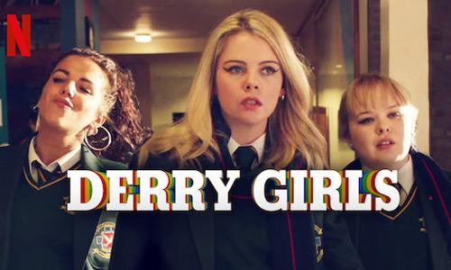 Derry Girls temporada 3 por Netflix | DEGUATE.com