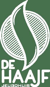 Logo Jeugdhuis De Haajf - WHITE alpha