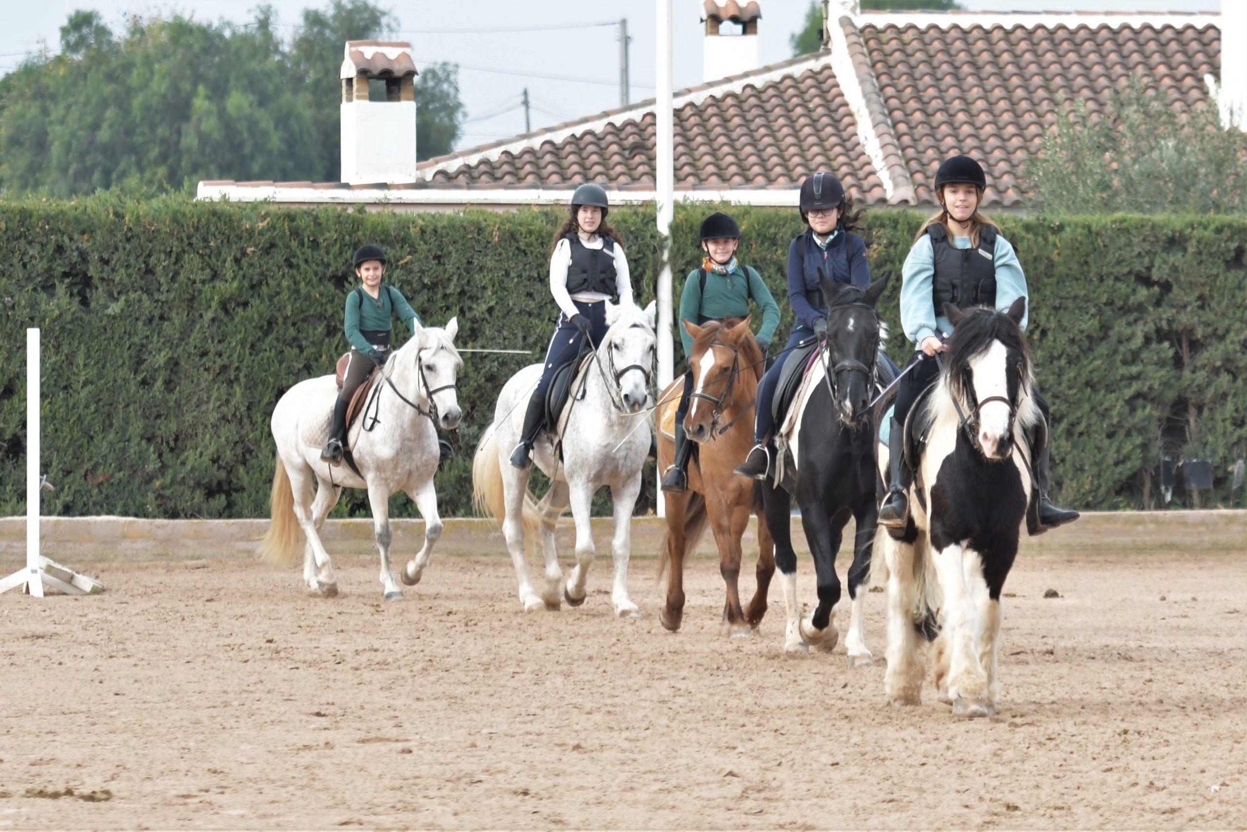 clases de equitacion Valencia