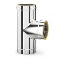 DW 150 | T-stuk 90 graden met deksel condens afvoer