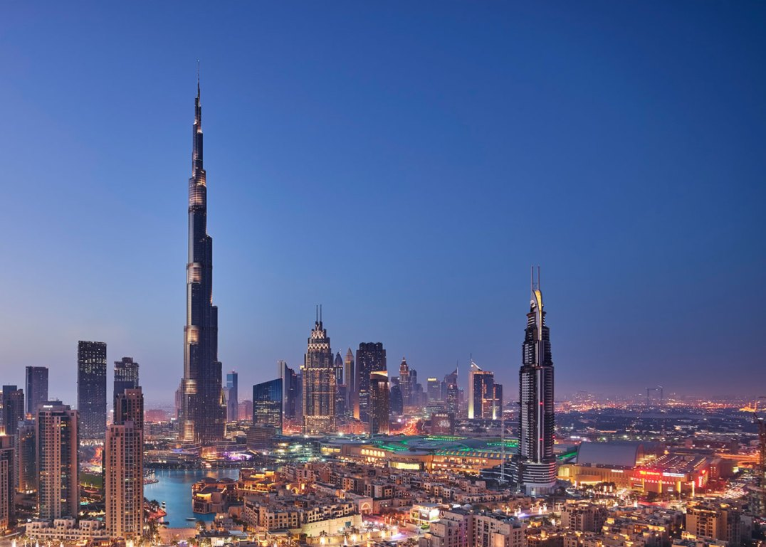 Burj Khalifa, em Dubai