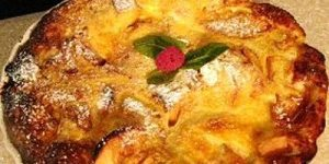 Picture of Dehydrated Apple Oven Pancake
