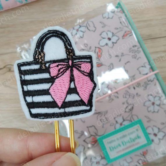 Clips decorados - fashion bag