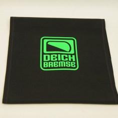 Deichbremse Schwarz/Neon-Grün