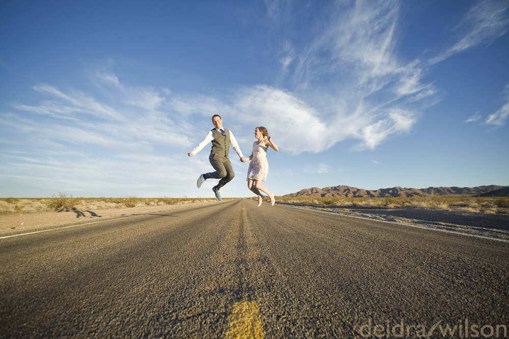 Las Vegas Wedding Photographer - jump shots