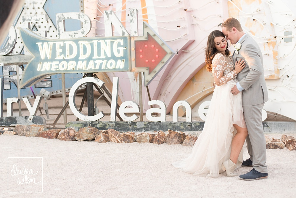 Neon Museum - cool Las Vegas wedding venues
