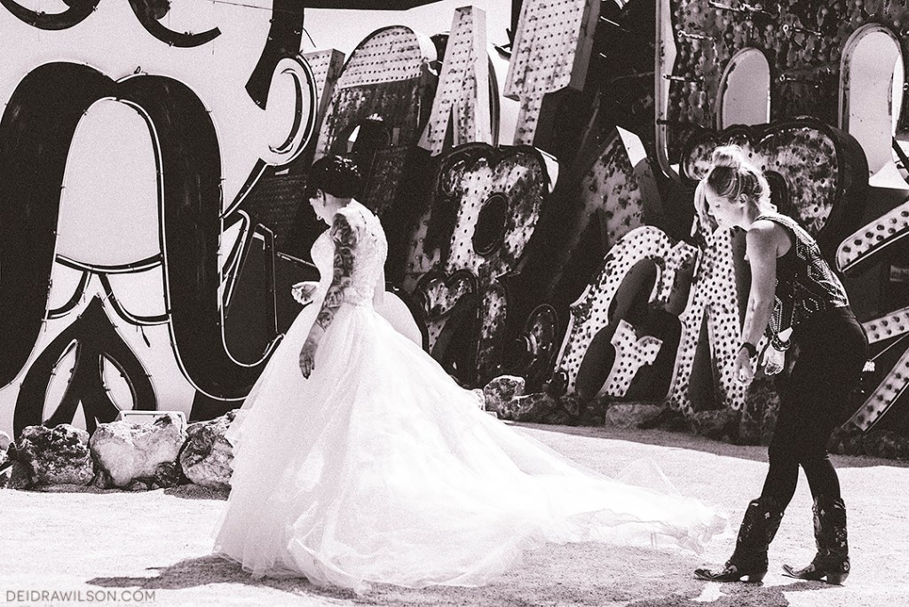 Las Vegas Wedding Photographer - Neon Museum