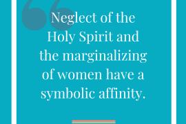 Is the Holy spirit feminine?
