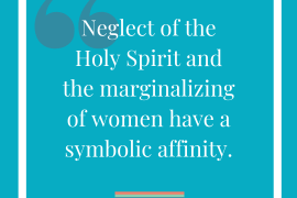 Is the Holy spirit feminine?