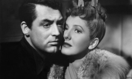 """""""The Talk of the Town"""" Cary Grant and Jean Arthur"""