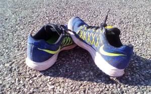 Nike Zoom Pegasus Schuhe nach dem Lauf