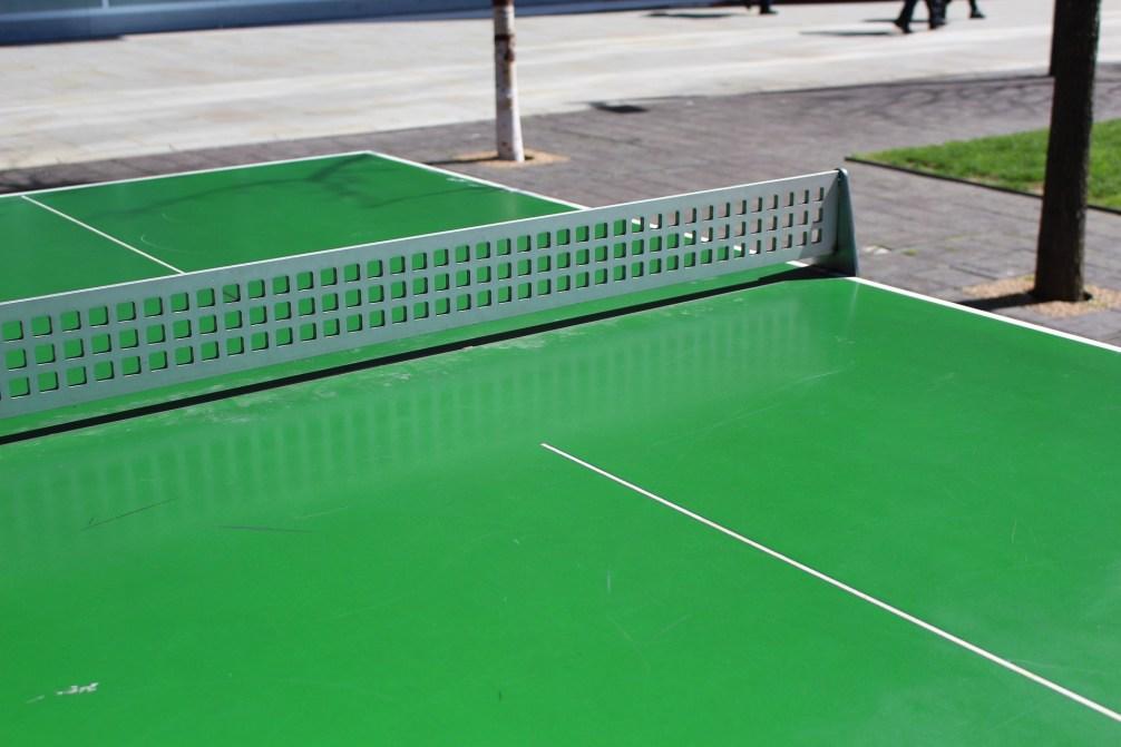 Tischtennis im Heidebad
