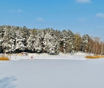 Heidesee Eisfläche