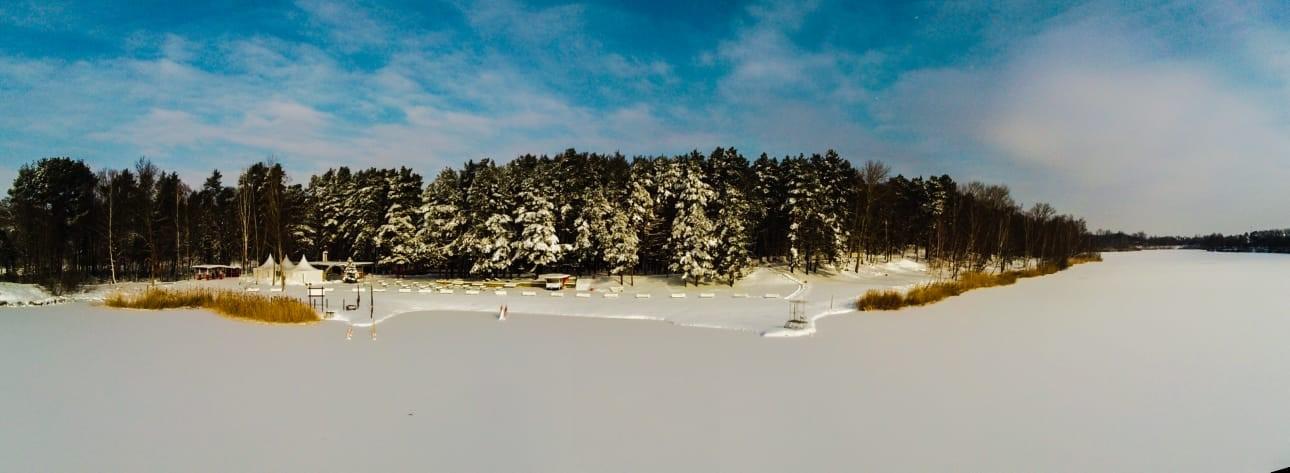 Winter Panorama Heidesee