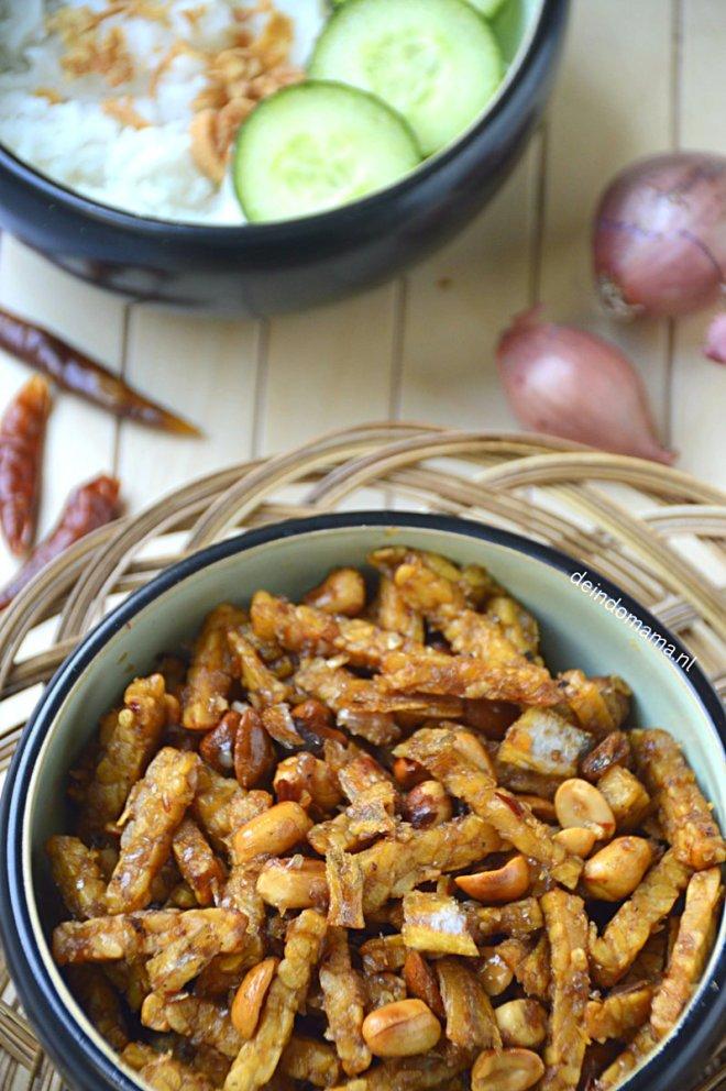 sambal -goreng- teri -tempéh