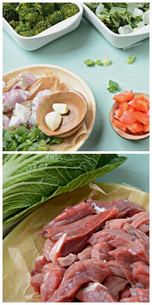 voorbereiding- biefstuk- met -oestersaus