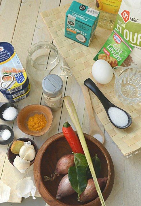 ingrediënten panada