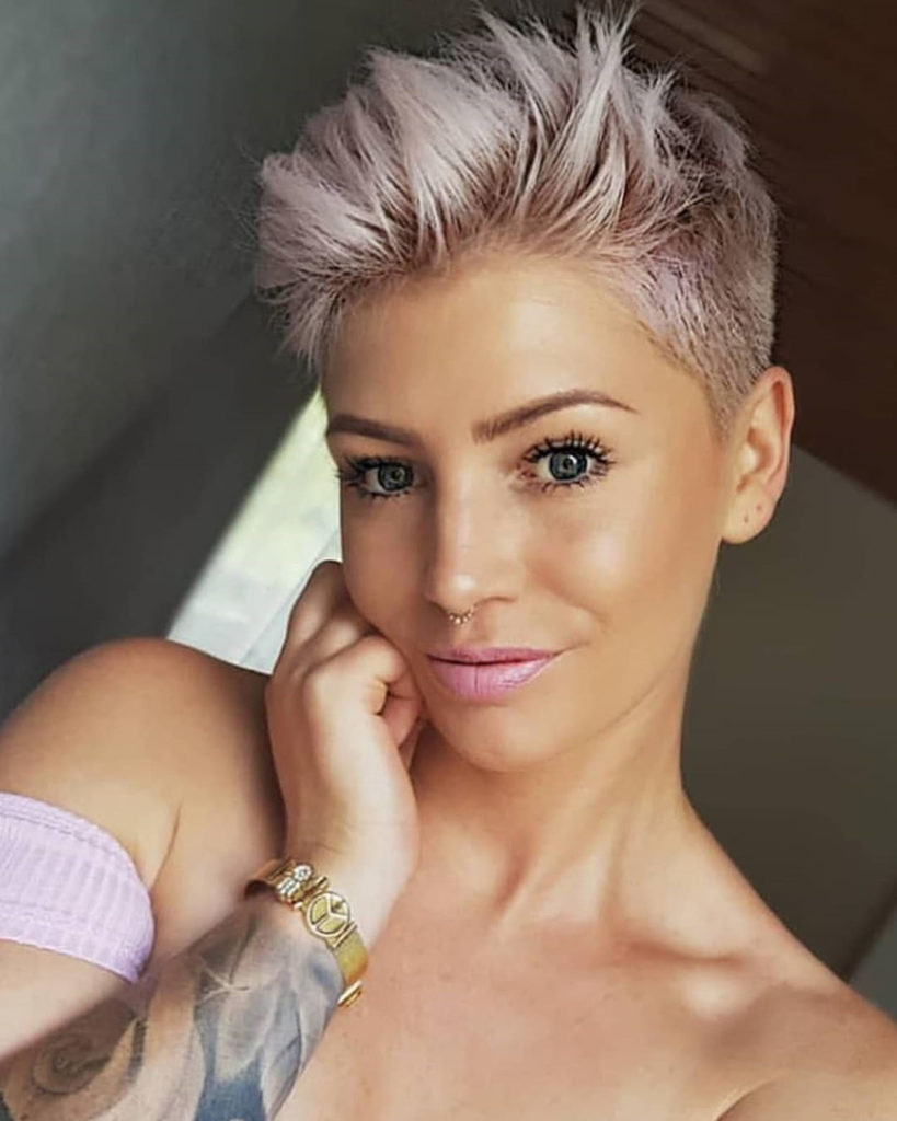 Wunderschne Kurz Haar Modelle fr Damen 2018  Frauen
