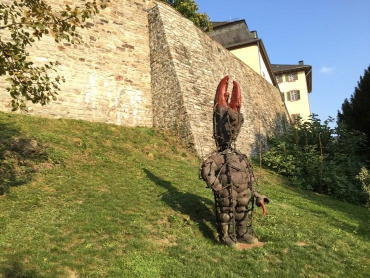 Blickachsen Skulpturen BadHomburg