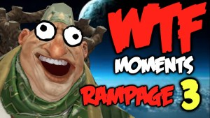 dota  wtf rampage compilation