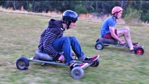 grass kart racing