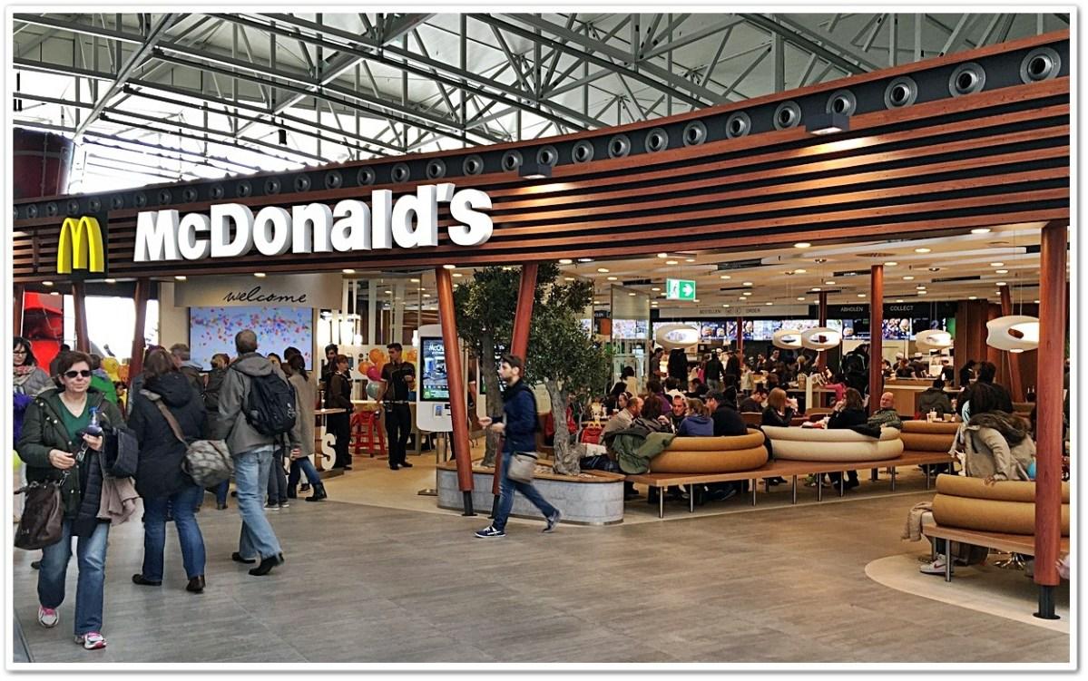 mcdonalds flughafen frankfurt terminal