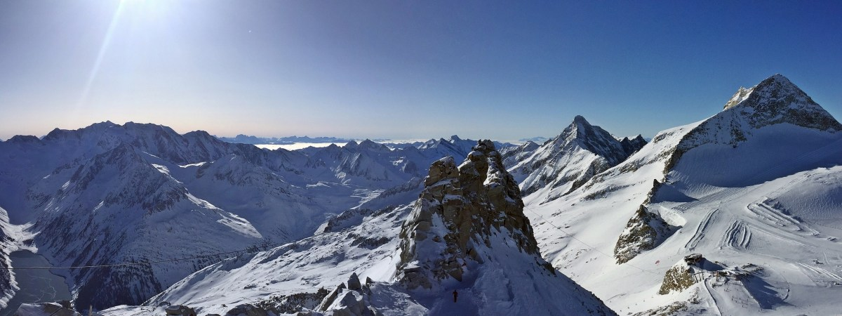 panorama hintertuxer gletscher zillertal