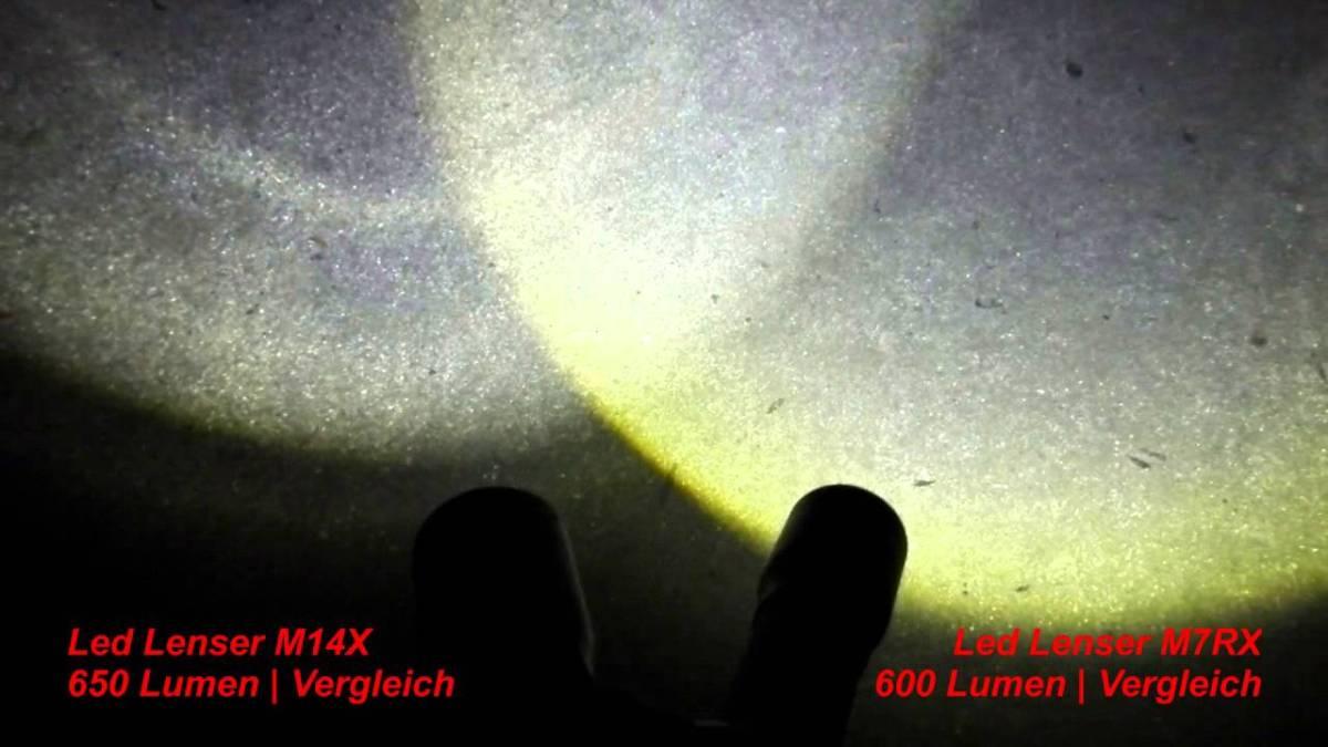 produktest led lenser mrx und m