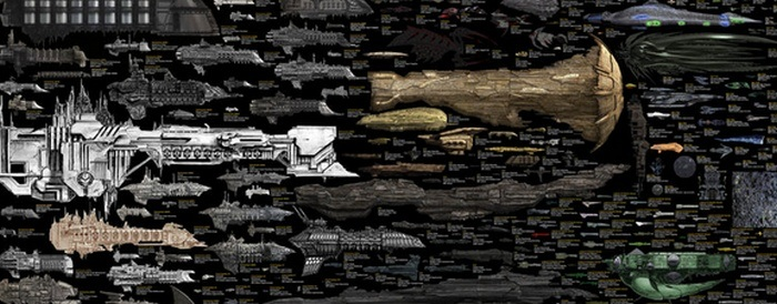 spaceship comparison
