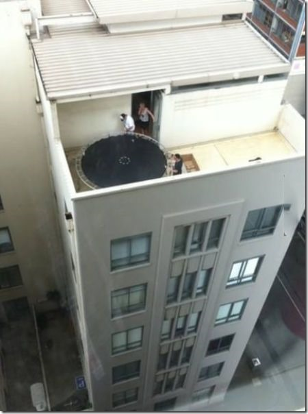 trampoline what could go wrong