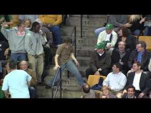 ultimative tanzeinlage im stadio