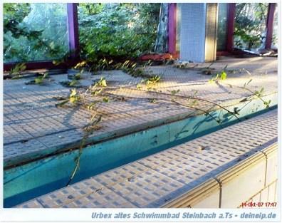 urbex steinbach schwimmbad
