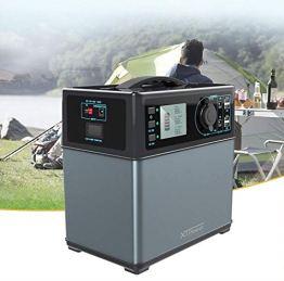 XTPower XT-400Wh Hochleistungsakku Energiespeicher mit Lithium-Ionen Zellen - Solar Generator - AC 220V 300W zusätzlich 12V, USB und KFZ Ausgang - 1