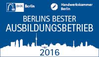 Signet Berlins bester Ausbildungsbetrieb