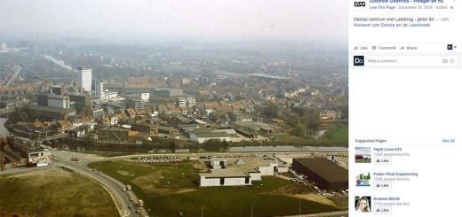 luchtfotos jaren 80 Deinze - Facebook