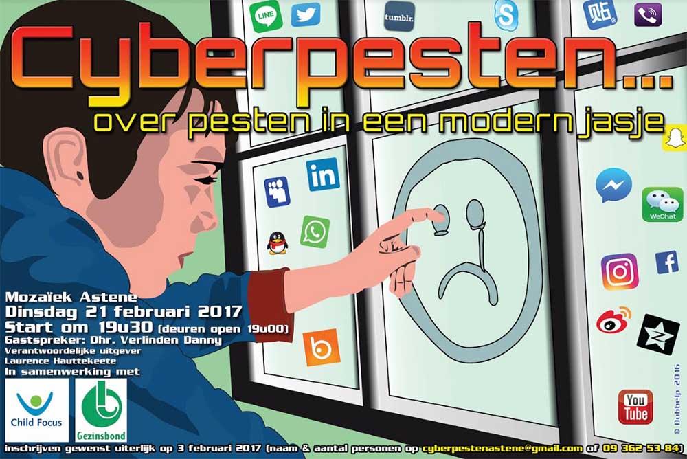 Cyberpesten 2017 Deinze