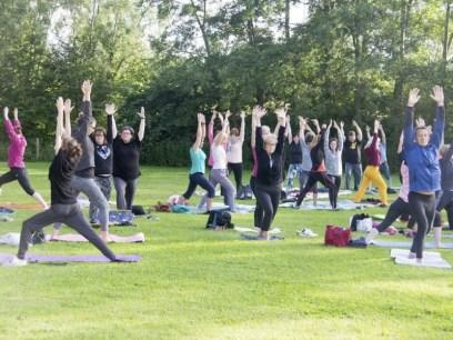 Yogadag 2016 Deinze 2 - Foto Ive Steyaert