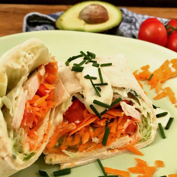 Chicken-Avocado-Wrap