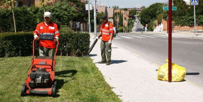 Jardineros despedidos en Madrid