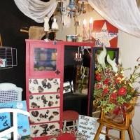Leopard print dresser!