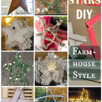 Holiday Decor: Farmhouse Style DIY Stars